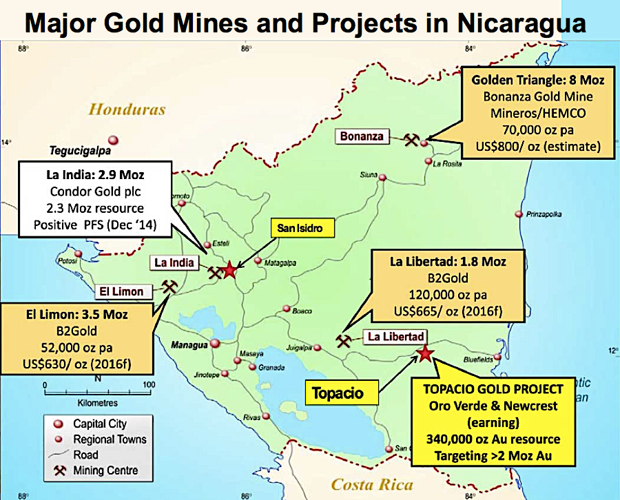Condor Gold a step closer to begin building Nicaragua mine