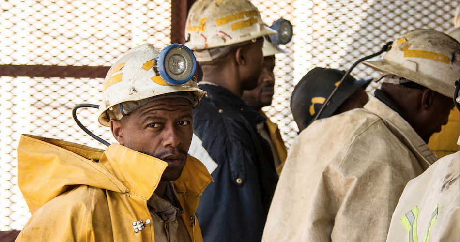 South African union threatens strike at coal and diamond mines