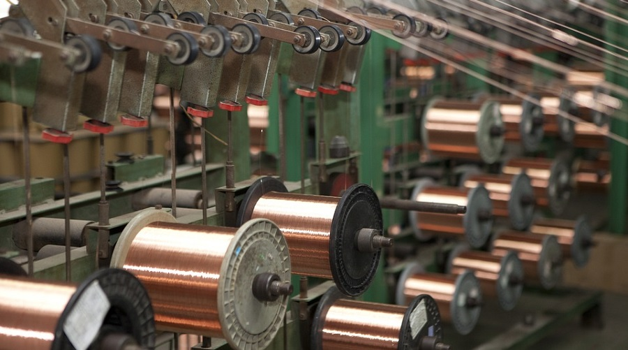Copper price loses steam as factory activity slows in Europe and Asia