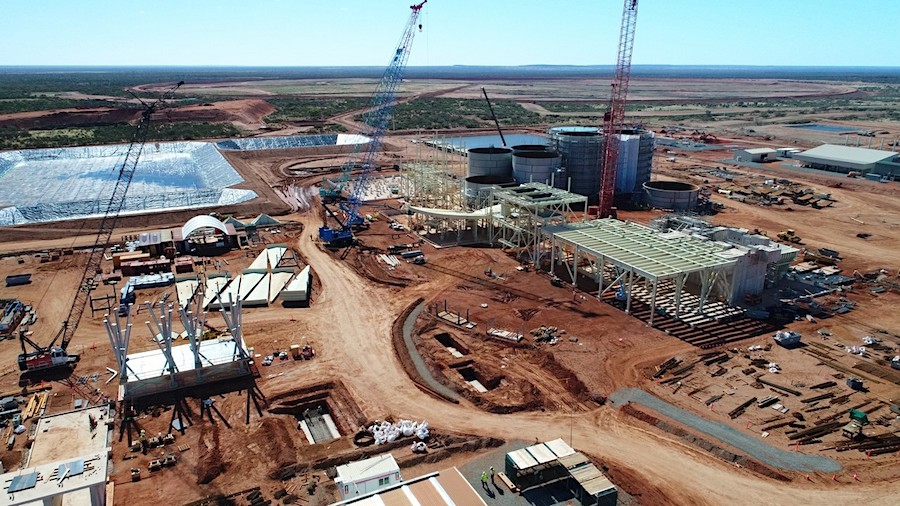 Mining at Gold Road and Gold Fields JV in Australia to start next month
