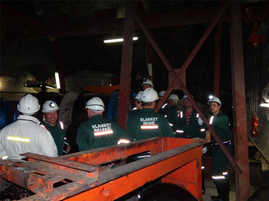 Caledonia buys back 15% interest in Blanket gold mine in Zimbabwe