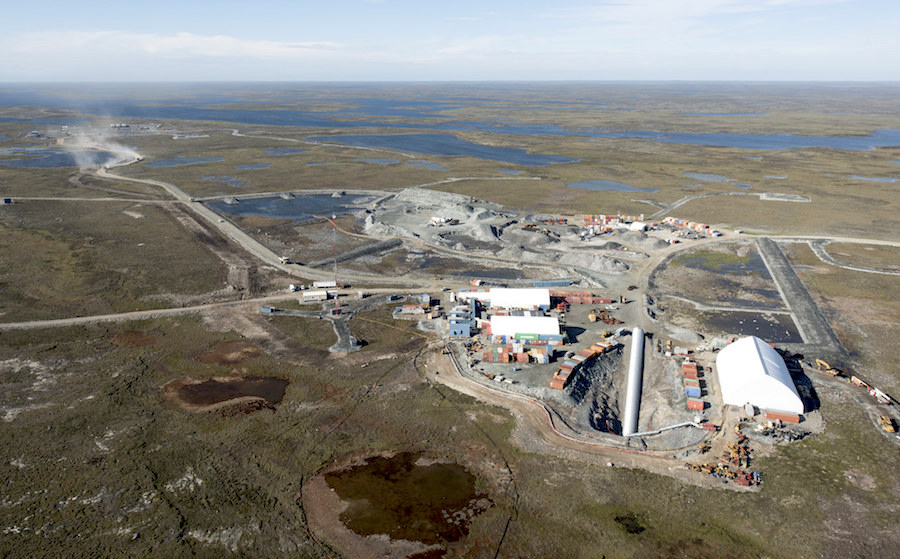 Gold mines to inject new life to Canada's far north