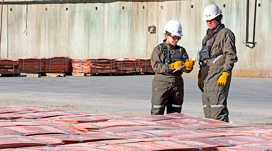 Copper production in Chile to rise by 3.7% in 2021 - report