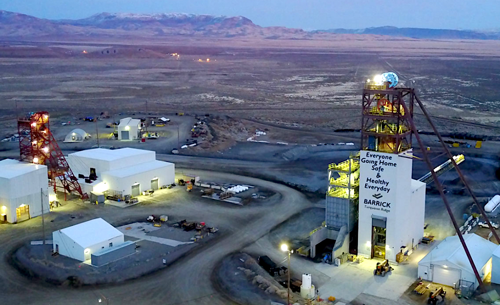 Barrick puts research and development company firm up for sale