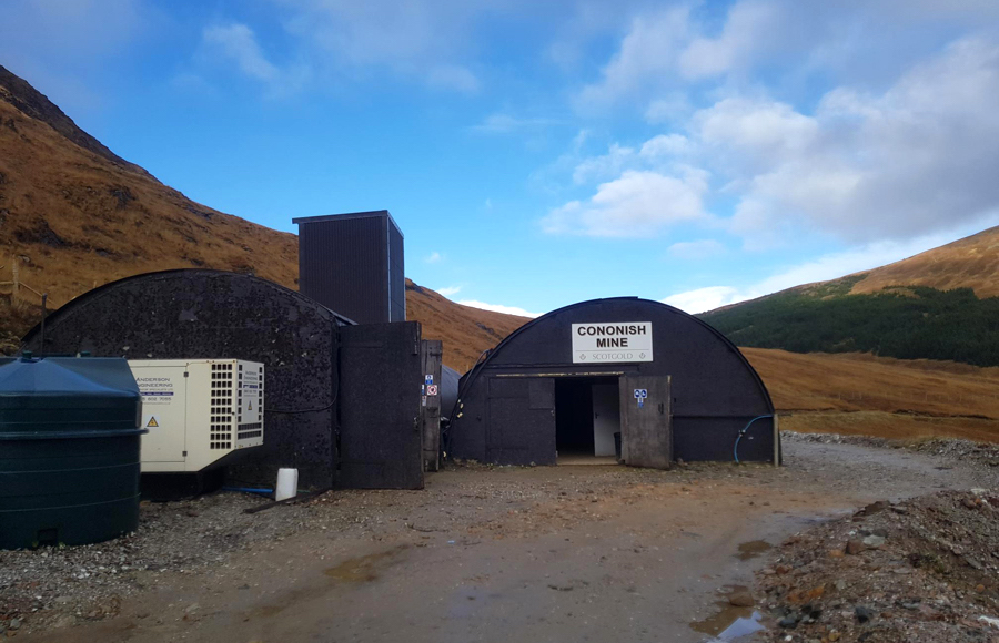 Development of Scotland's first commercial gold mine gets going