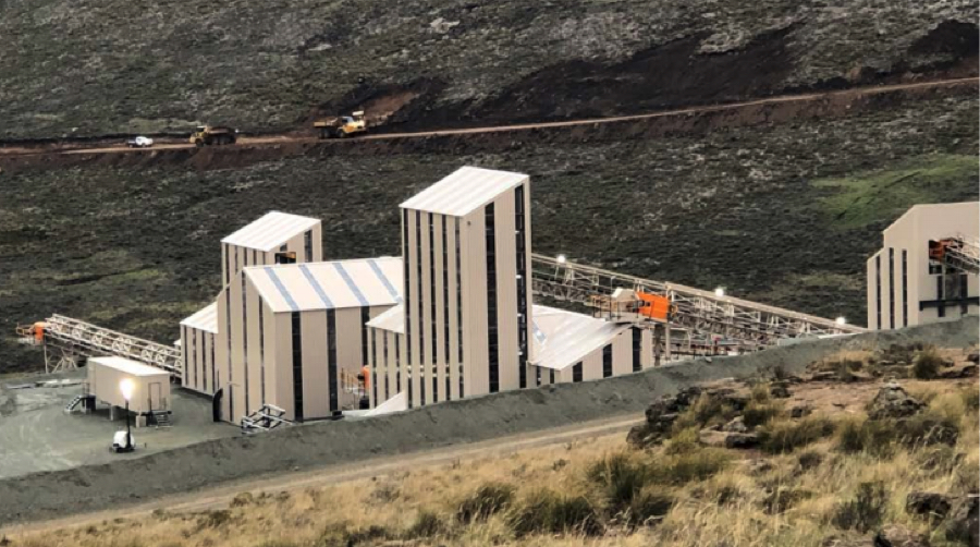 Lucapa kicks off commercial production at Mothae diamond mine