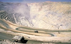 Works at Codelco's iconic Chuquicamata mine down tools