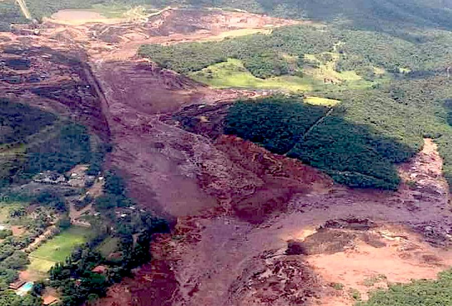 Brazil dam disaster: 58 dead, 305 missing