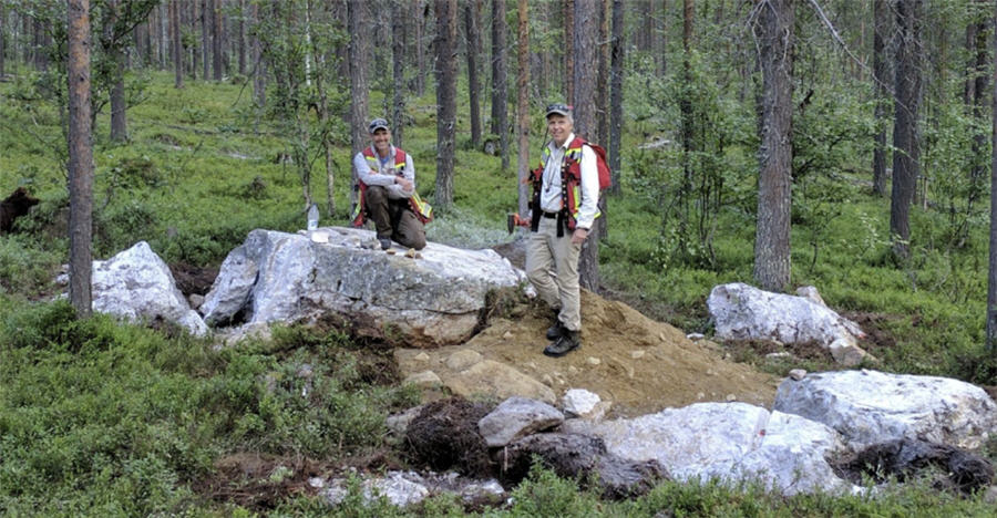 Canadian gold junior hits the jackpot at Finland project