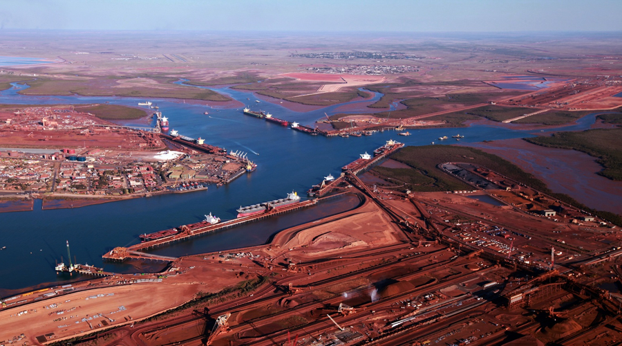 Iron ore prices rebound on spike in China imports