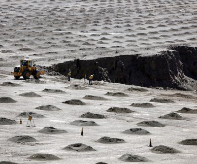 At least three Chilean copper mines halted due to heavy rain