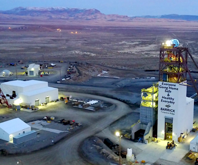 Barrick's profit nearly triples, but sees flat production for next five years