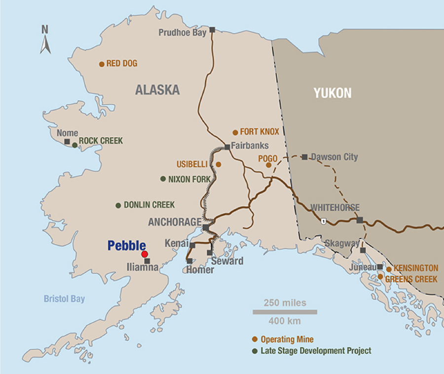 Northern Dynasty raises $10 million to further develop mine in Alaska