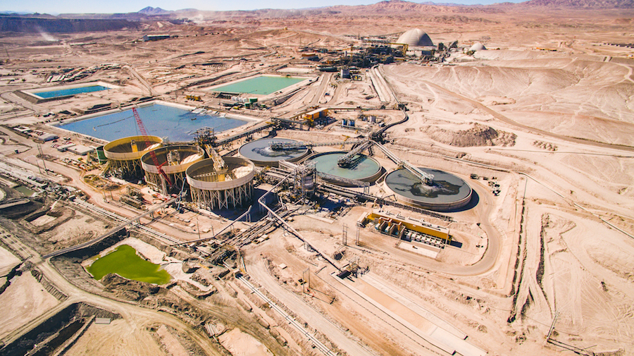 Supervisors at Antofagasta's Centinela copper mine in Chile accept new contract