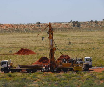 Newcrest starts drilling at Greatland Gold's project in Western Australia.