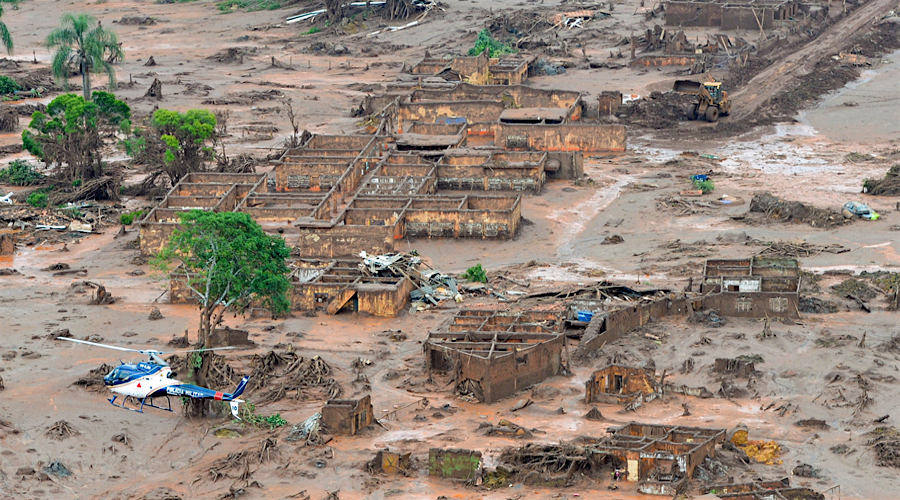 'Negligent' BHP sued for £5bn over fatal dam burst in Brazil