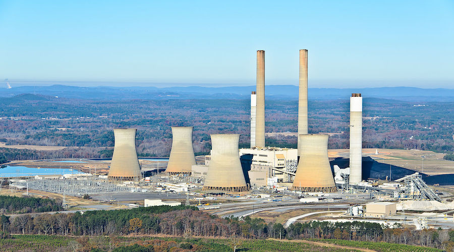 Coal power generation continues to drop in the US