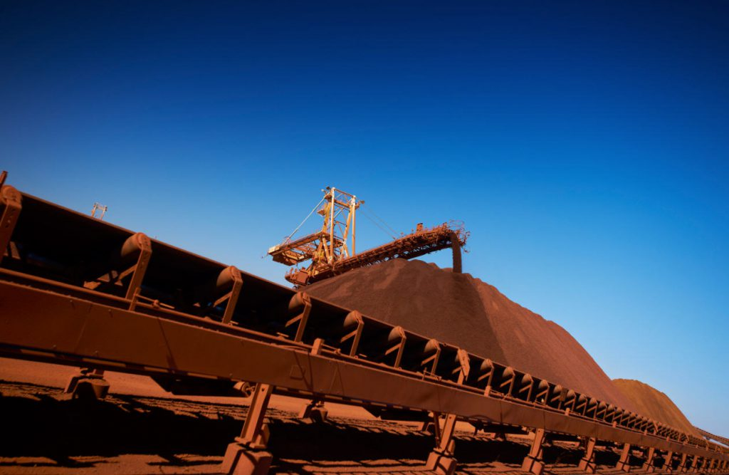 BHP expects full-year iron ore output near upper end of forecast