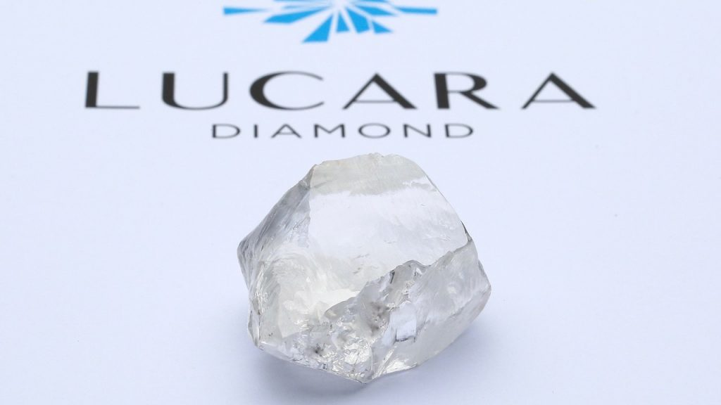 Lucara finds unbroken 549c diamond, fourth-largest ever mined at Karowe