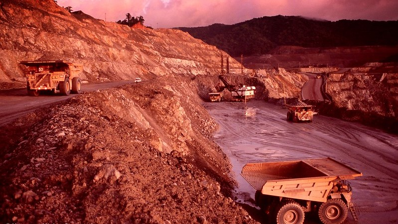 Copper-gold mine is located on the Indonesian Indonesia best