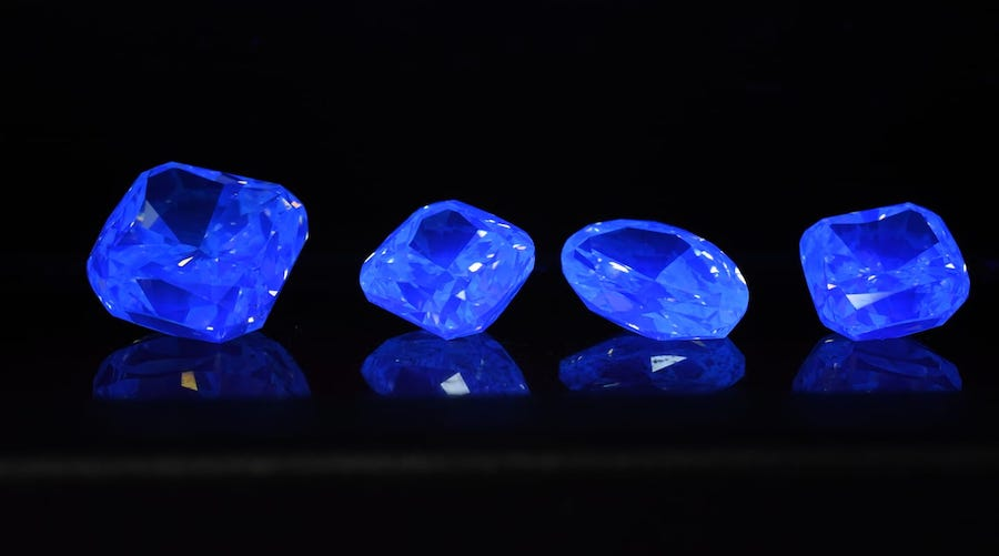 Alrosa pushes for sales of fluorescent diamonds