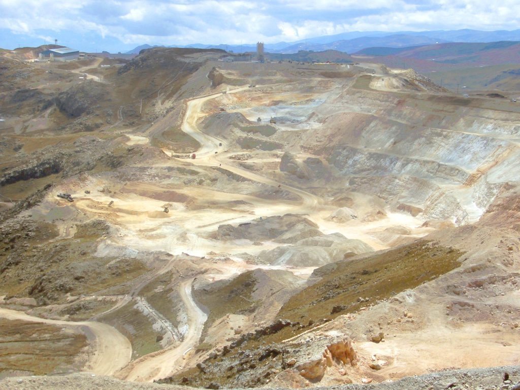 Peru mining production to drop by 15% this year