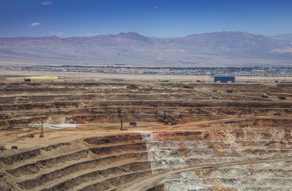 Thousands of copper workers have fallen ill in Chile