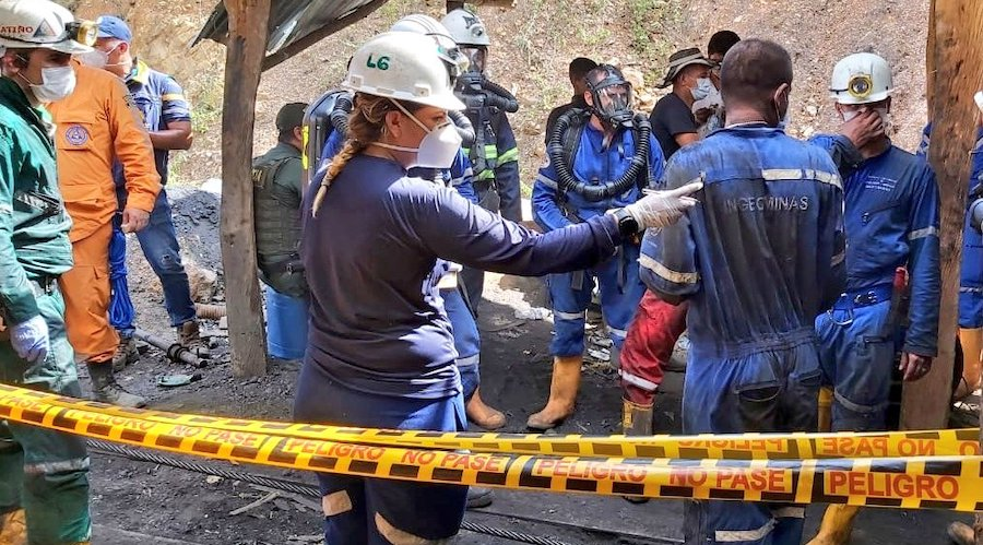 Explosion at coal mine in Colombia kills nine