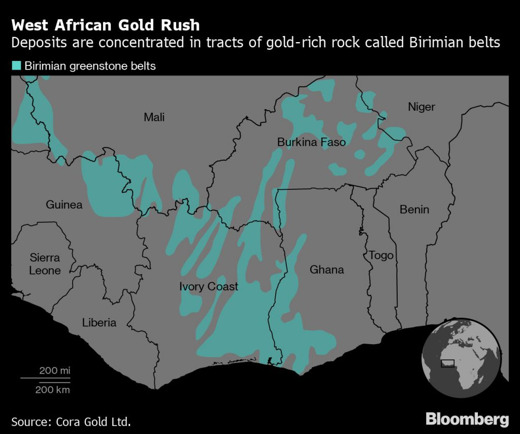 West African Gold Rush