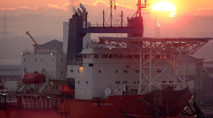 De Beers uses geofencing to protect crew at world's largest offshore diamond mining vessel