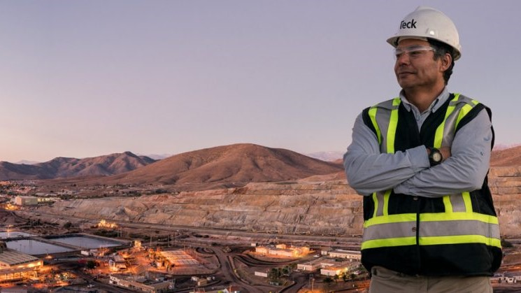 Teck copper mine in Chile switches to renewable energy