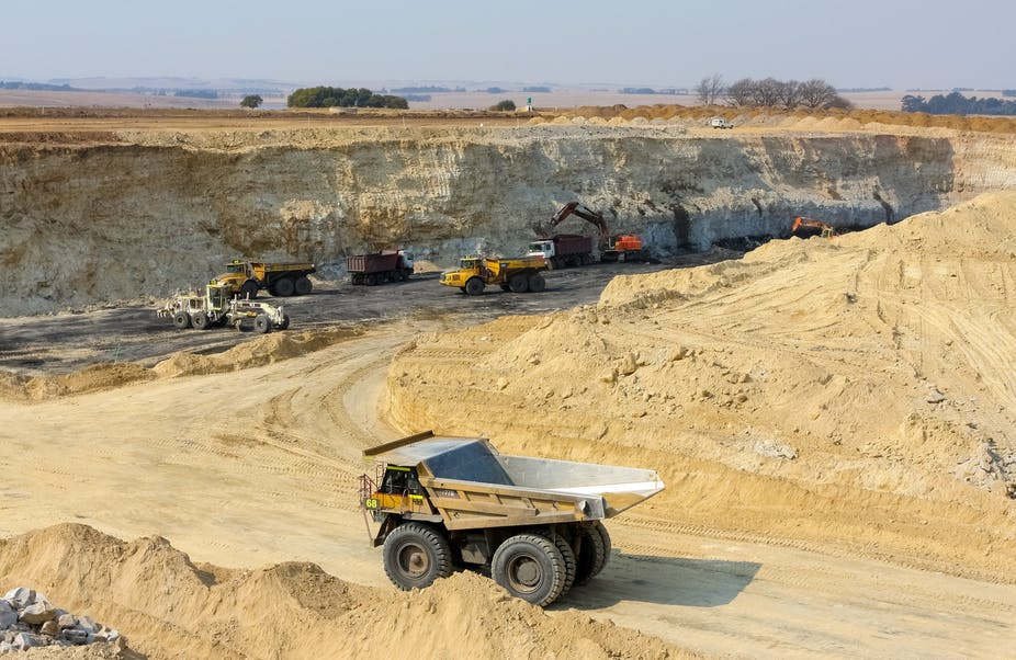 South Africa's mining output up 21.9% y/y in May