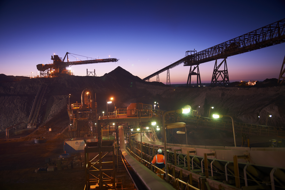 BHP raises full-year iron ore output forecast