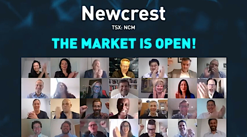 Newcrest shares solid as it starts trading in Canada