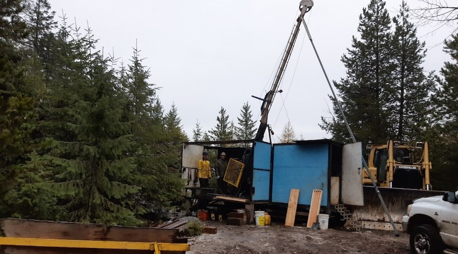 Drilling at Rossland gold project reignited after 30 years