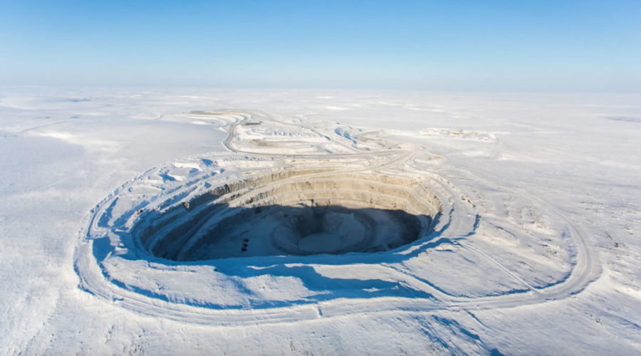 Worker at Ekati diamond mine in Canada's north tests positive for covid-19