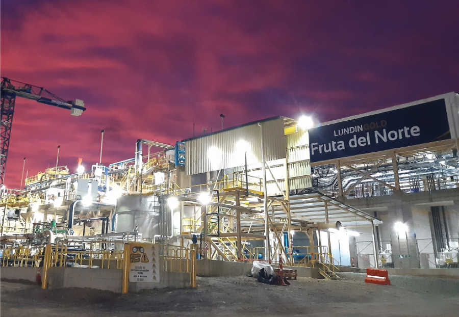 Lundin Gold goes ahead with $18.6m-expansion of Fruta del Norte