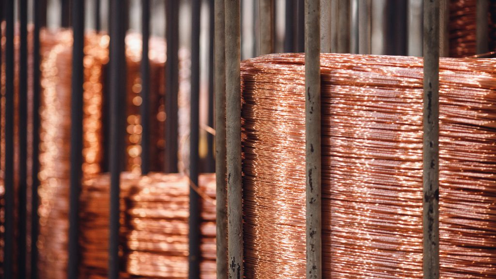 Copper price slid as US bond yields jump