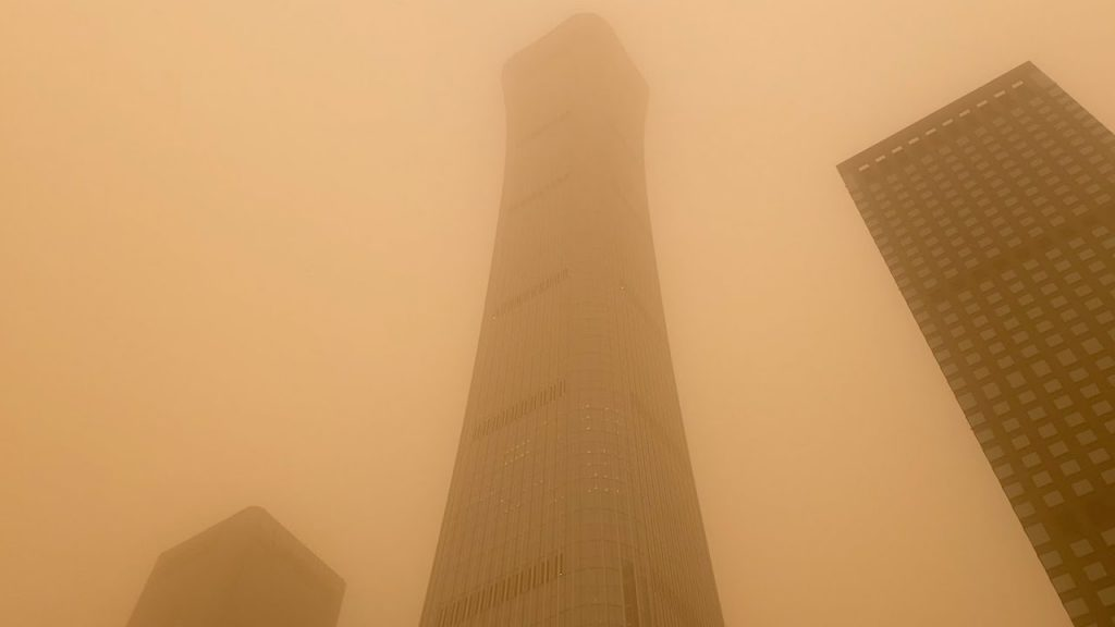 China's epic sandstorm lifts the price of coal that caused it