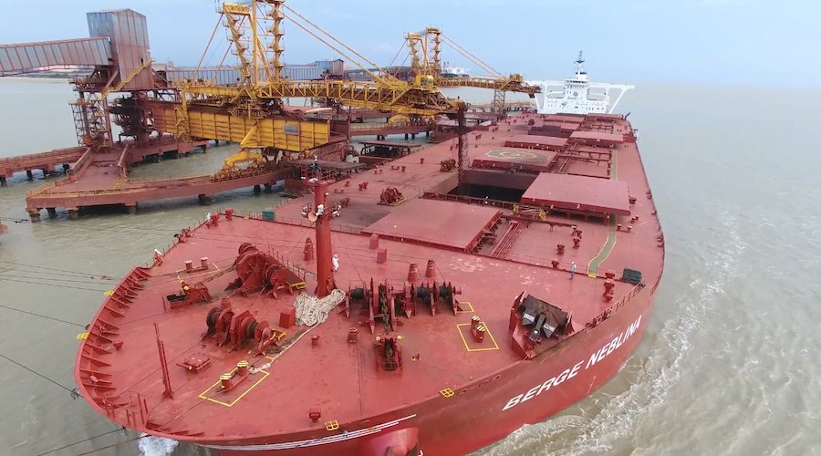 Iron-ore jumps as Chinese ports inventory drops to the lowest since February