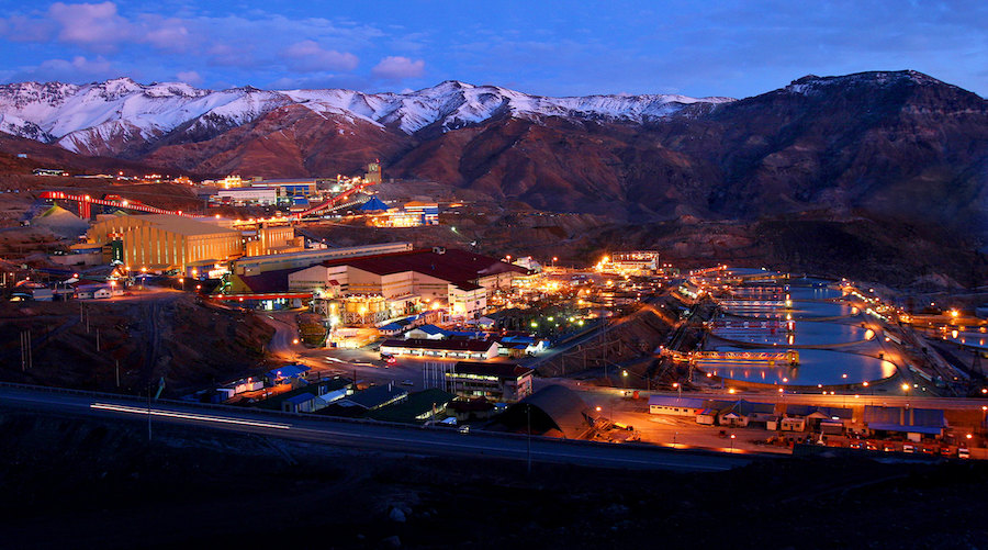 Chile's Codelco says 40% of its copper output at risk if glacier bill passes -media