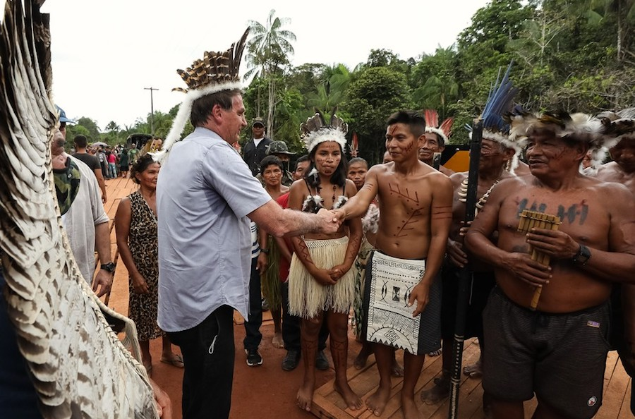 Bolsonaro vows to keep mining out of Yanomami reservation