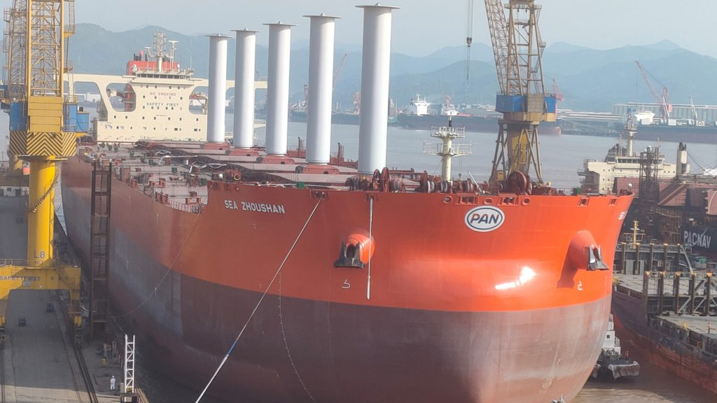Vale set to receive first-ever wind-powered ore carrier