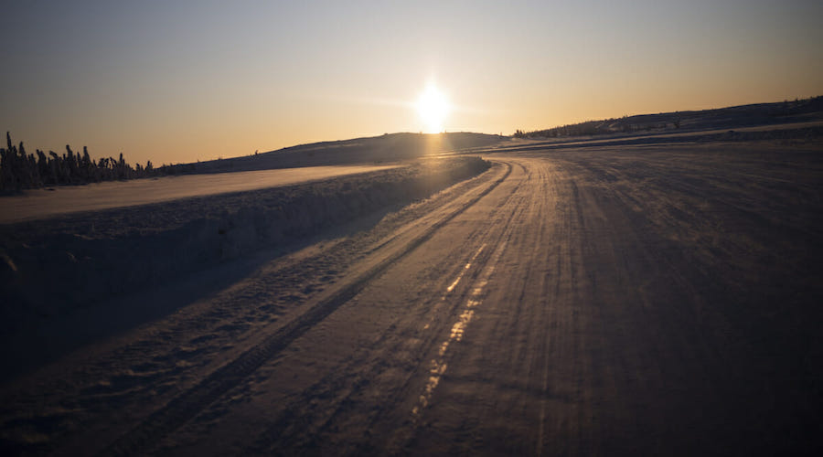 Ice Road built by diamond miners in Canada's Far North gets Netflix debut