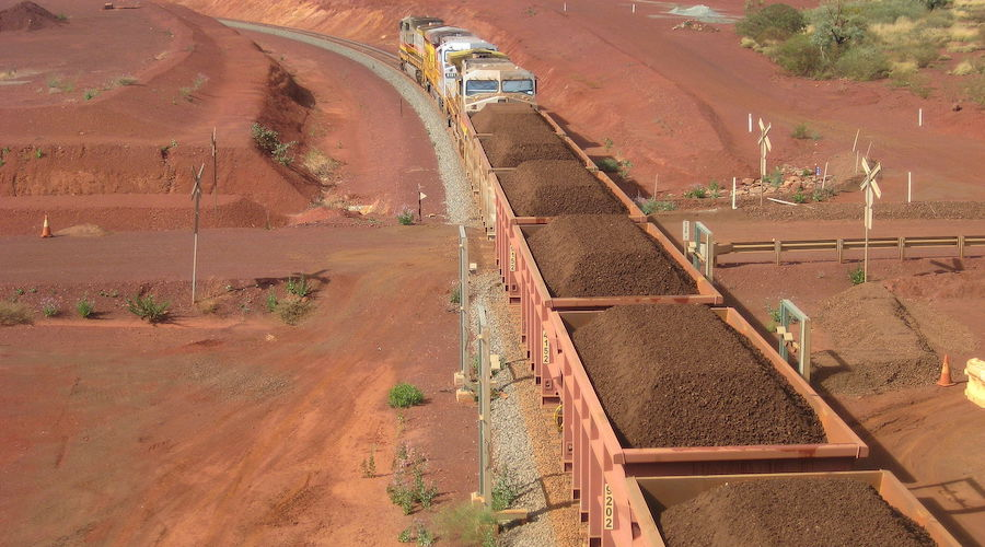 Iron ore makes unruly retreat to more normal price levels: Russell