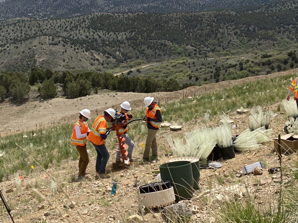 Rio Tinto Kennecott, BYU researchers partner to improve reclamation at Bingham