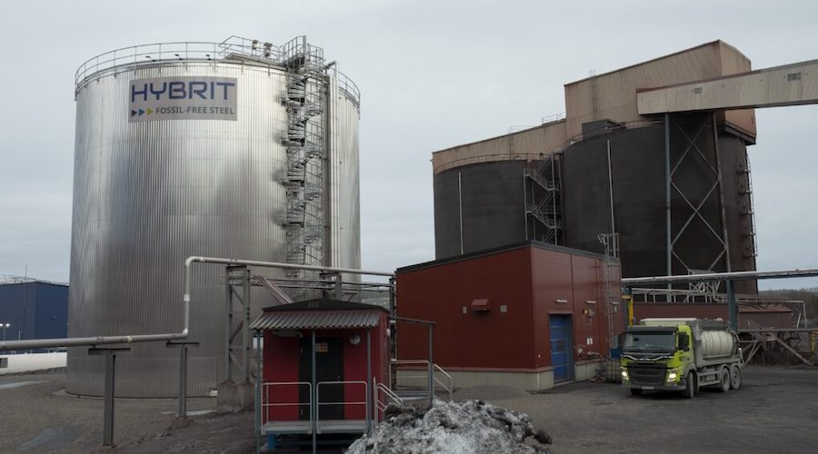 World's first fossil-free steel plant fueled by hydrogen