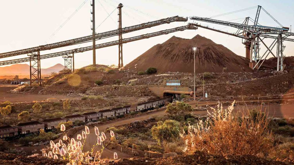 BHP posts record annual iron ore production, lower output elsewhere