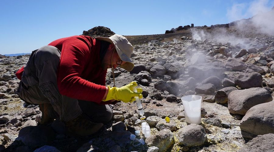 German-Chilean project wants to extract raw materials from thermal springs