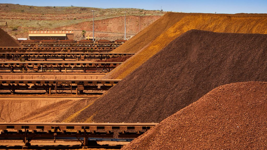 Bad weather may cost Rio Tinto's iron ore crown